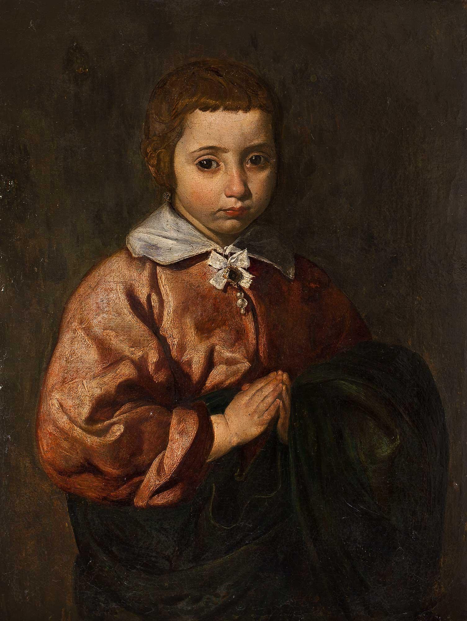 Diego Velázquez. Retrato de niña o Joven Inmaculada. Salida y remate: 8.000.000 euros