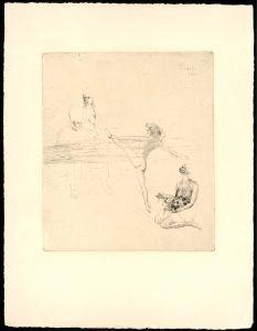 Pablo Picasso. Salomé. 1948. c Sucesión Pablo Picasso, VEGAP, 2017
