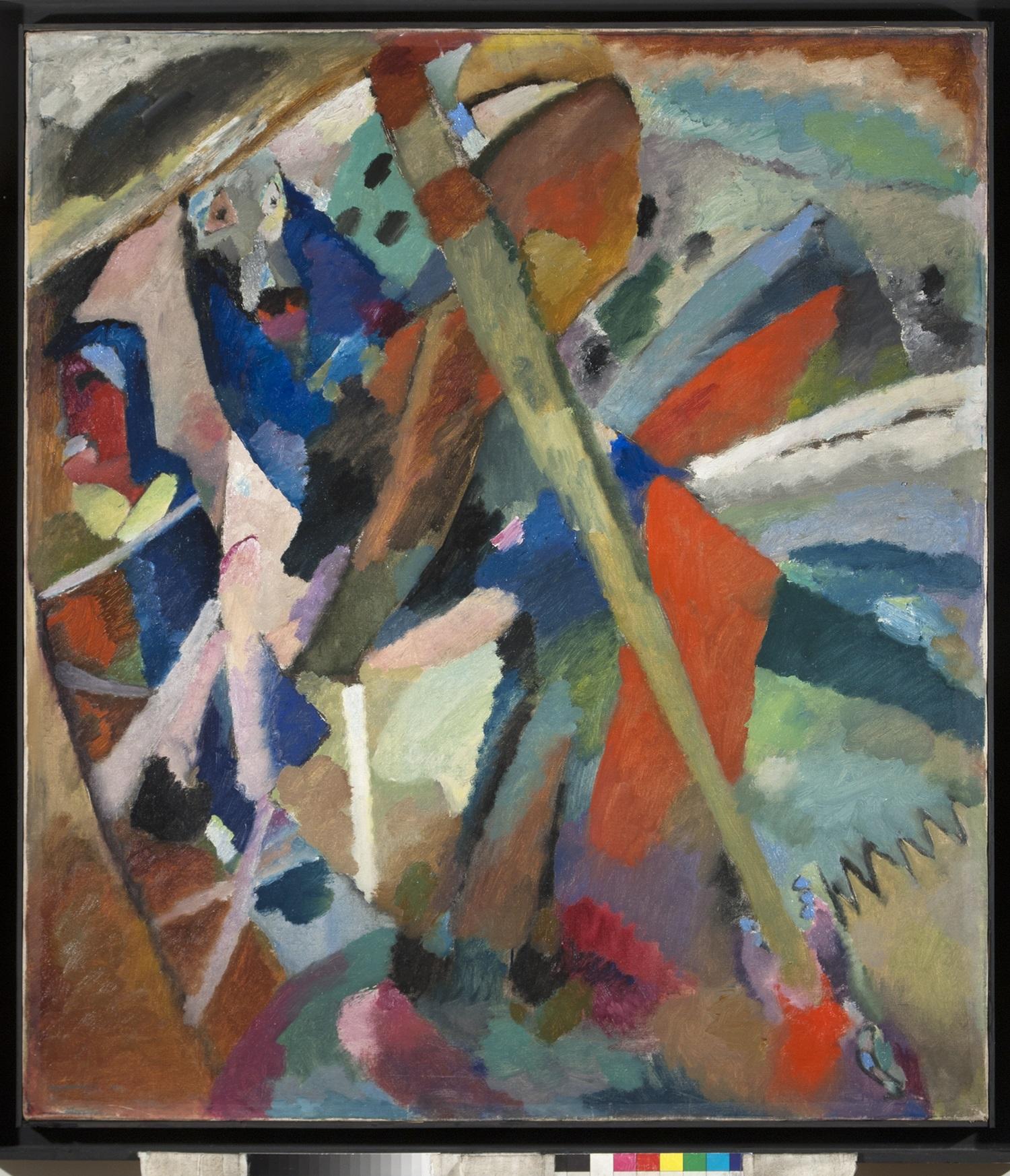 17.-Vassily-Kandinsky.-San-Jorge-II.-1911.-Óleo-sobre-lienzo-JPG