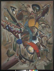 21.-Vassily-Kandinsky.-Pintura-con-filos.-1919.-Óleo-sobre-lienzo-JPG
