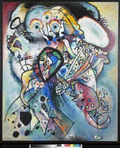 22.-Vassily-Kandinsky.-Dos-óvalos.-1919.-Óleo-sobre-lienzo-JPG