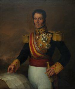 Antonio María Esquivel. Retrato de Manuel Lorenzo, militar y gobernador de Santiago de Cuba. Salida y remate: 15.000 euros