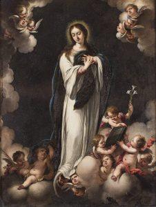 Cornelio Schut. Virgen Inmaculada. Salida: 30.000 euros