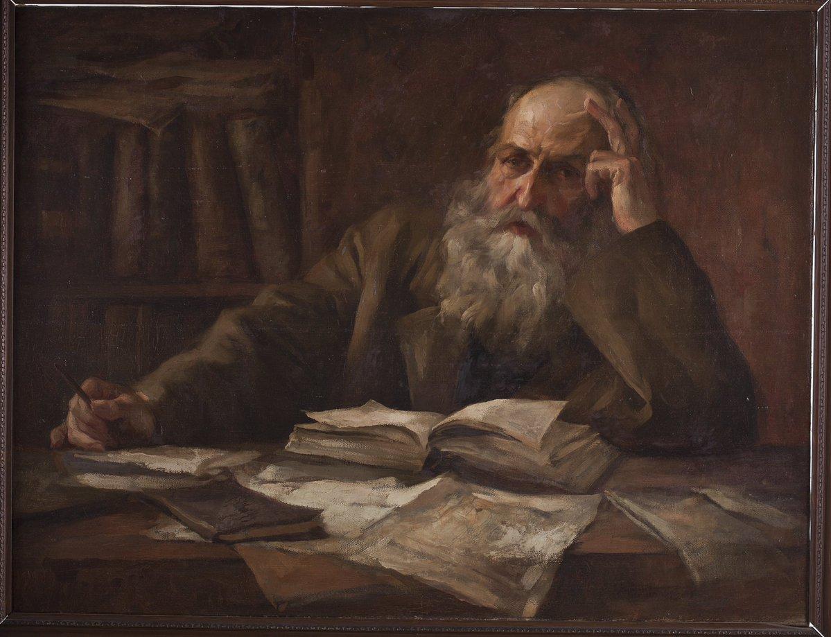 Fernando Amorsolo. El viejo escritor. Salida: 15.000 euros. Remate: 110.000 euros