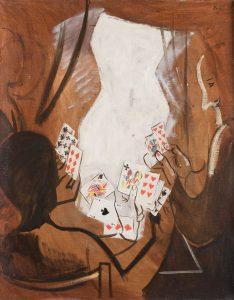 Francisco Bores. Sin título, 1928. Salida: 12.000 euros. Remate: 22.000 euros