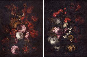 Gabriel de la Corte. Bodegones de flores. Salida: 27.500 euros