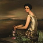 Julio Romero de Torres. Retrato de María de la Concepción Luque Álvarez, 1925. Salida: 120.000 euros