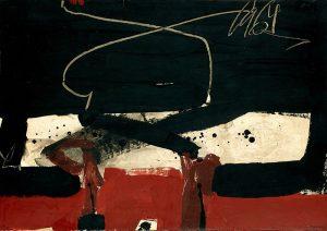 Manolo MIllares. Sin título, 1964. Salida: 29.000 euros. Remate: 35.000 euros