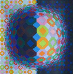 Victor Vasarely. Multicheyt, 1973. Salida: 90.000 euros