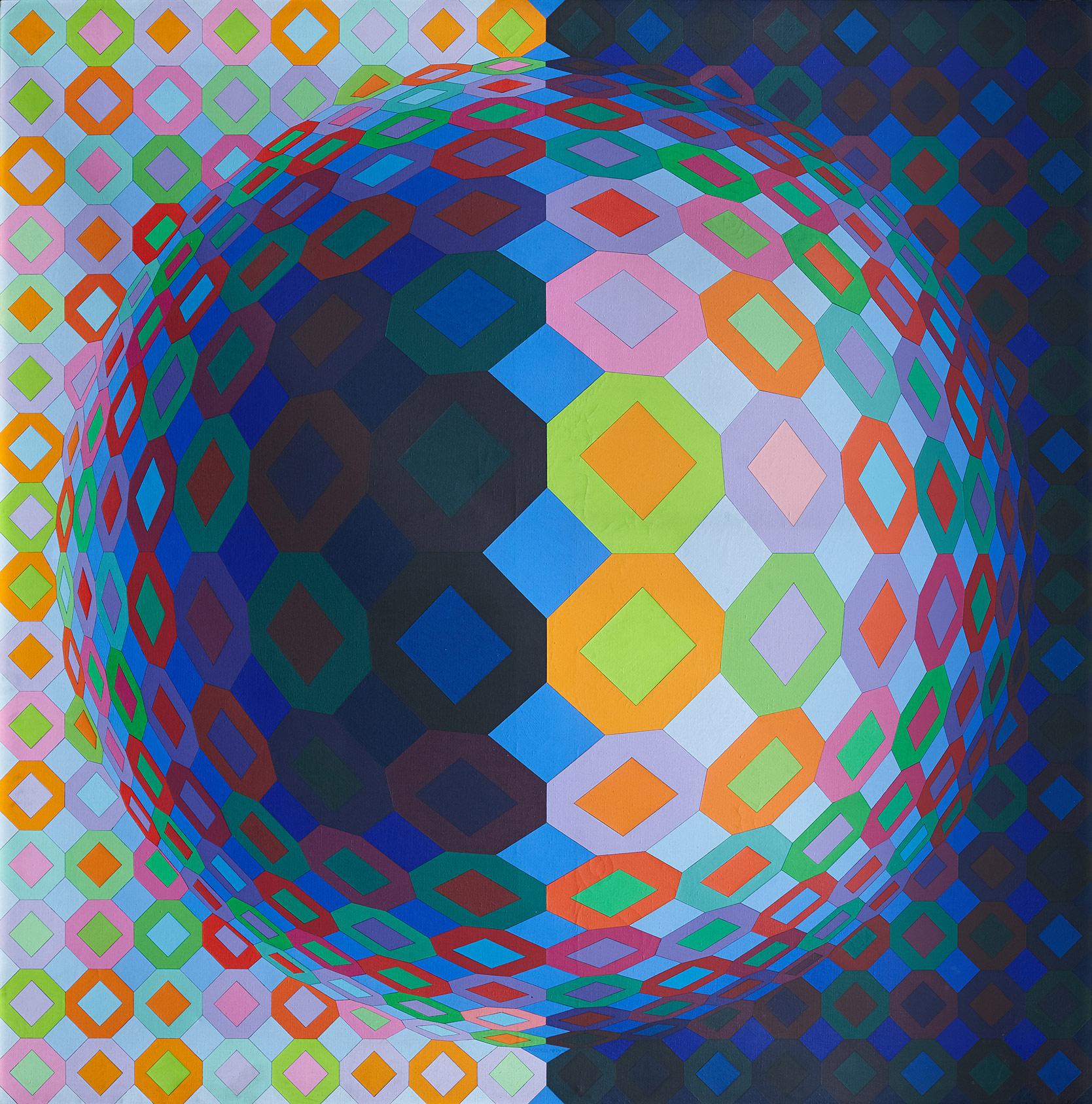 Victor Vasarely. Multicheyt, 1973. Salida: 90.000 euros. Remate: 95.000 euros