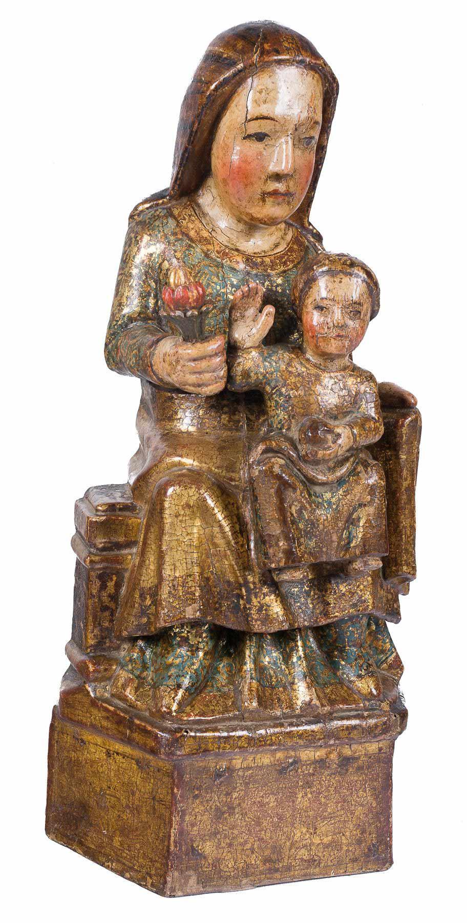 156-Virgen-en-Majestad-Sedes-Sapientiae.-Escultura-en-madera-tallada,-y-policromada.-Siglo-XIII.01