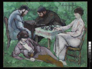 1_Marcel-Duchamp_La-partie-déchecs_1910_VEGAP