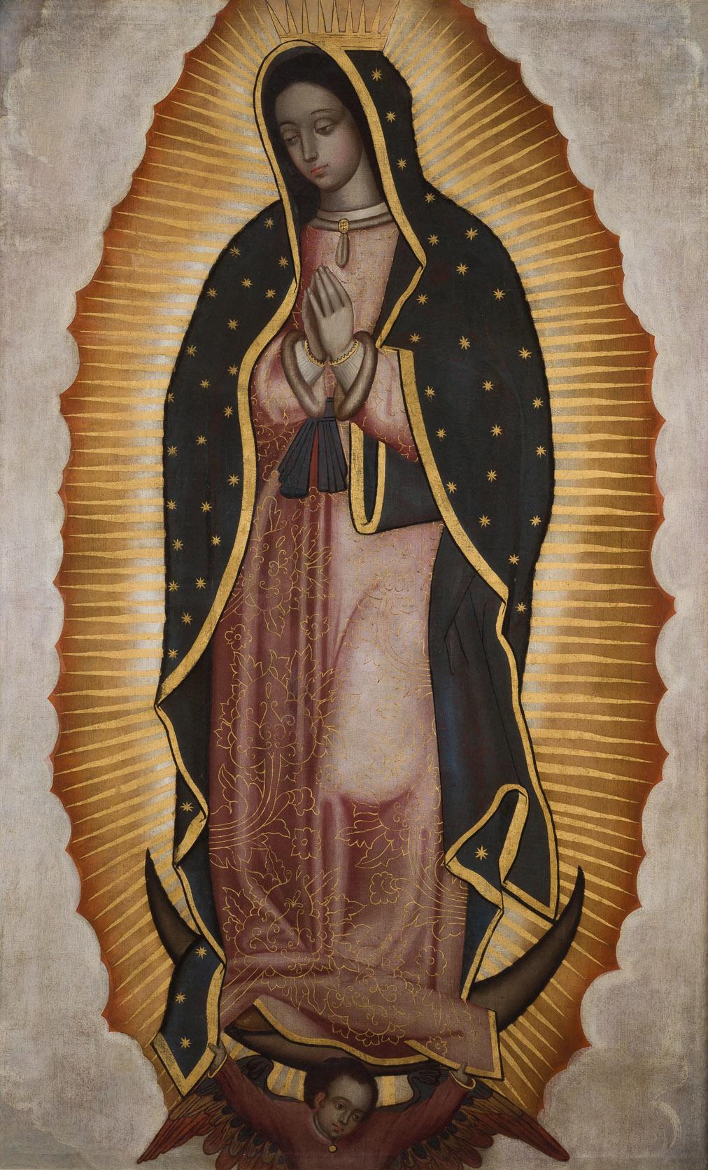 Atribuido a Juan de Correa. Virgen de Guadalupe. Salida: 6.600 euros. Remate: 10.000 euros