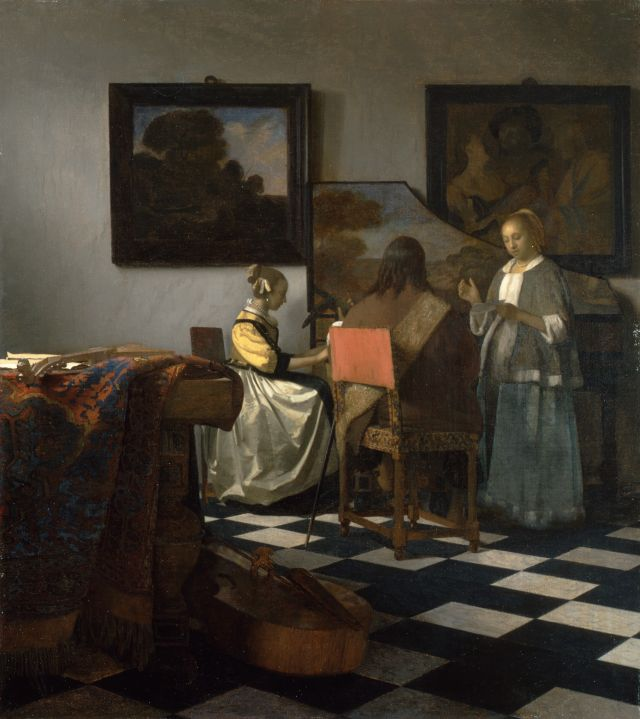 Vermeer_The Concert
