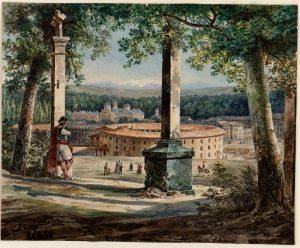 Vista-de-la-plaza-de-Toros-de-Aranjuez-1829