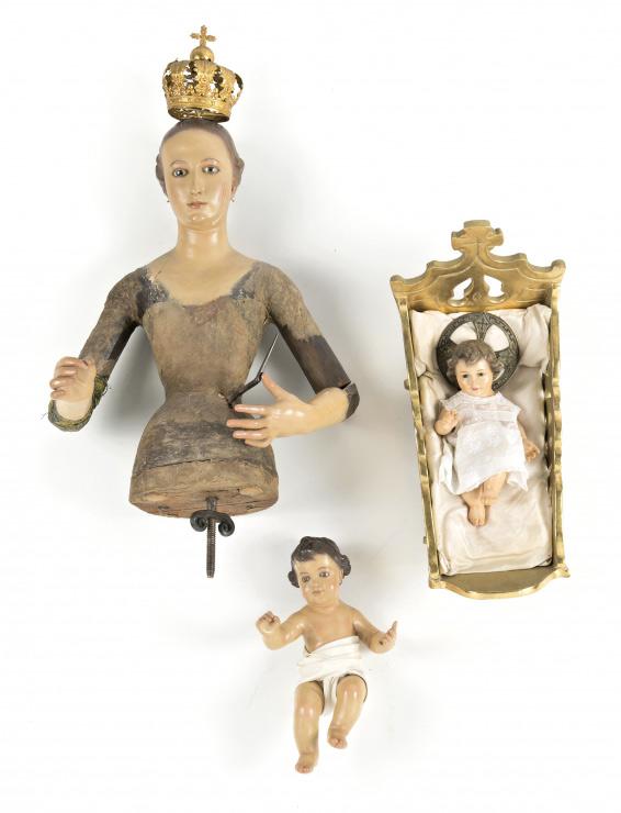 1495-Virgen-con-Niño-y-Niño-Jesus