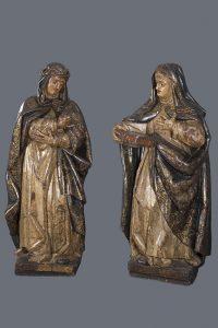 831-Santa-Rosa-de-Lima-y-Santa-Teresa-de-Jesús.Escuela-Española-s.-XVII-01