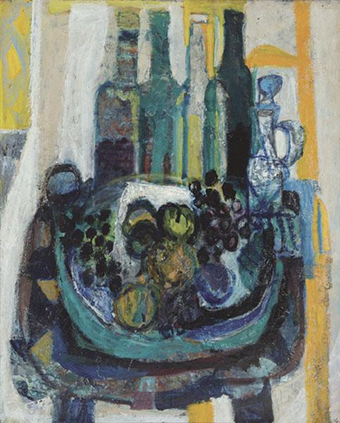 Antoni-Clave-Nature-Morte-aux-Bouteilles-1947