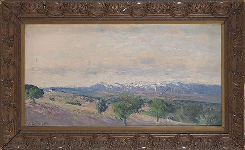 Aureliano-de-Beruete-Vista-de-la-sierra-de-Guadarrama