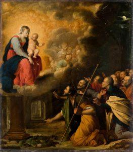 Carlo-Saraceni-Aparicion-de-la-Virgen-del-Pilar-a-Santiago-Apostol-y-sus-seguidores_th
