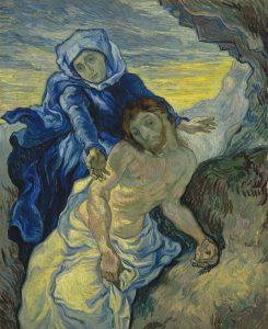Pietà, after Delacroix, 1889
