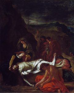 The Lamentation (Christ at the Tomb), 1848