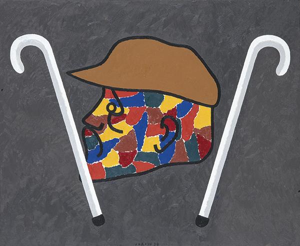 Eduardo-Arroyo-Ultimos-momentos-de-Degas-1997