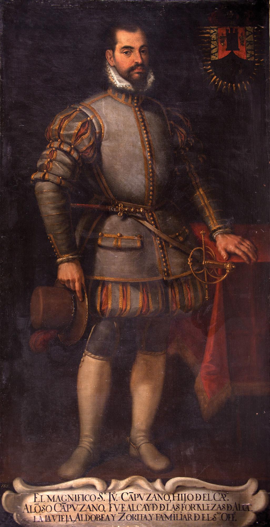 Escuela-madrilena-Retrato-de-Juan-Campuzano