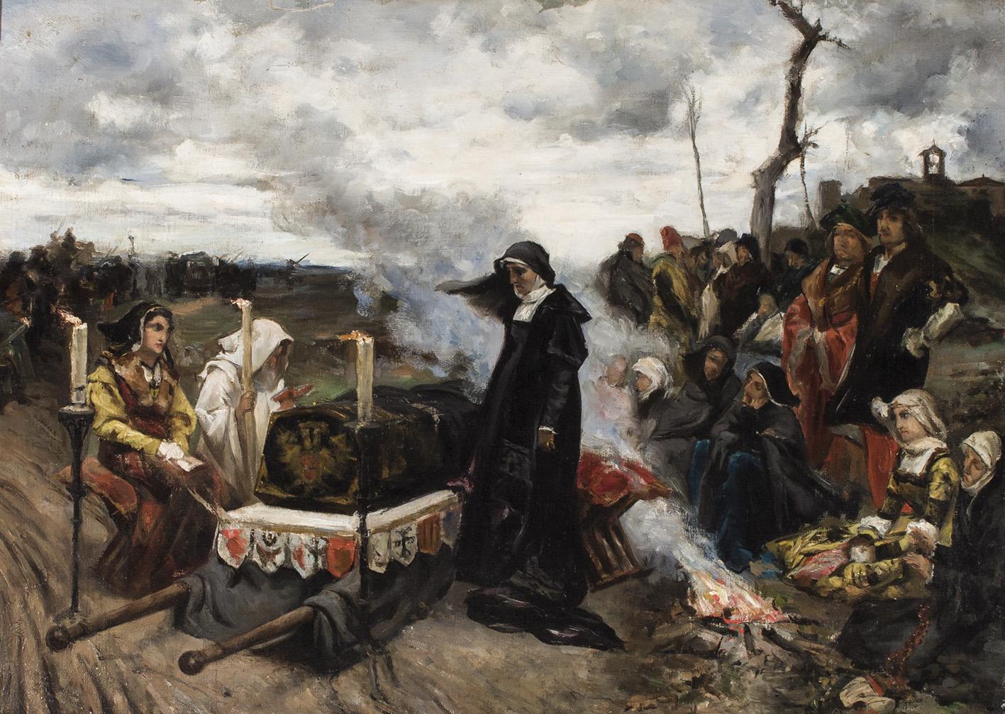 Francisco-Pradilla-Doña-Juana-la-Loca