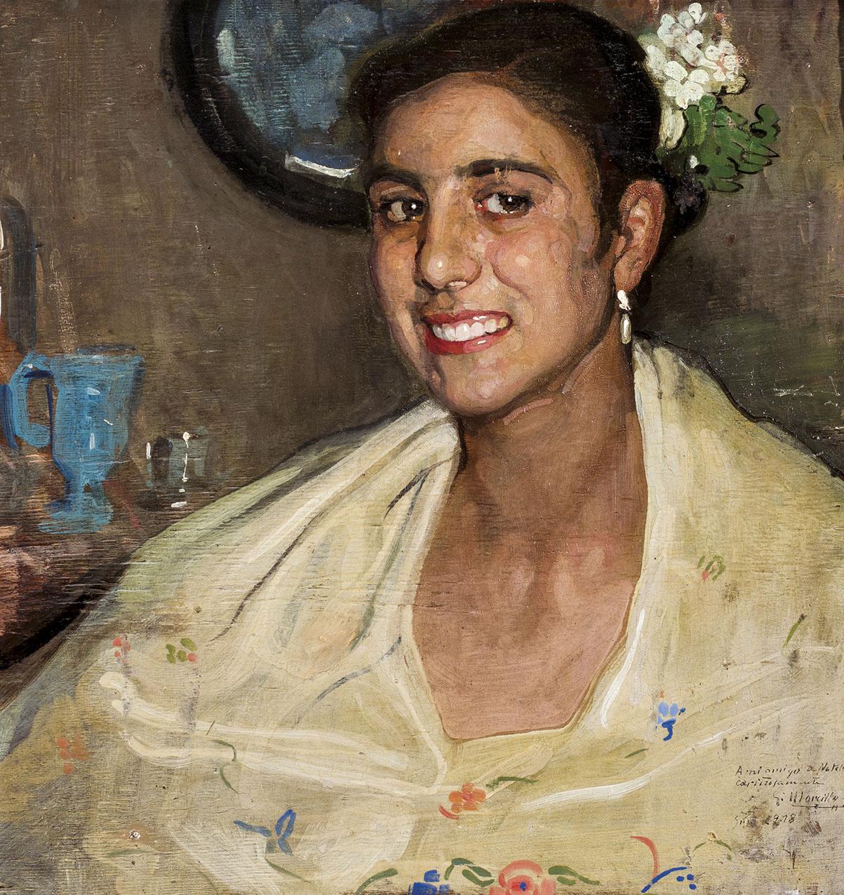 Gabriel-Morcillo-Joven-junto-al-espejo-1918