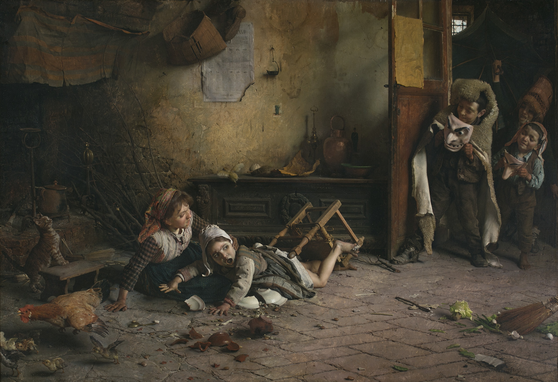 Gaetano-Chierici-Travesuras-infantiles-1888-1