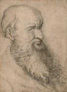 Hans-Baldung-Grien-Ta›Äte-de-vieillard-barbu-Pierre-noire-et-estompe-279×206-mm-Jean-Luc-BARONI