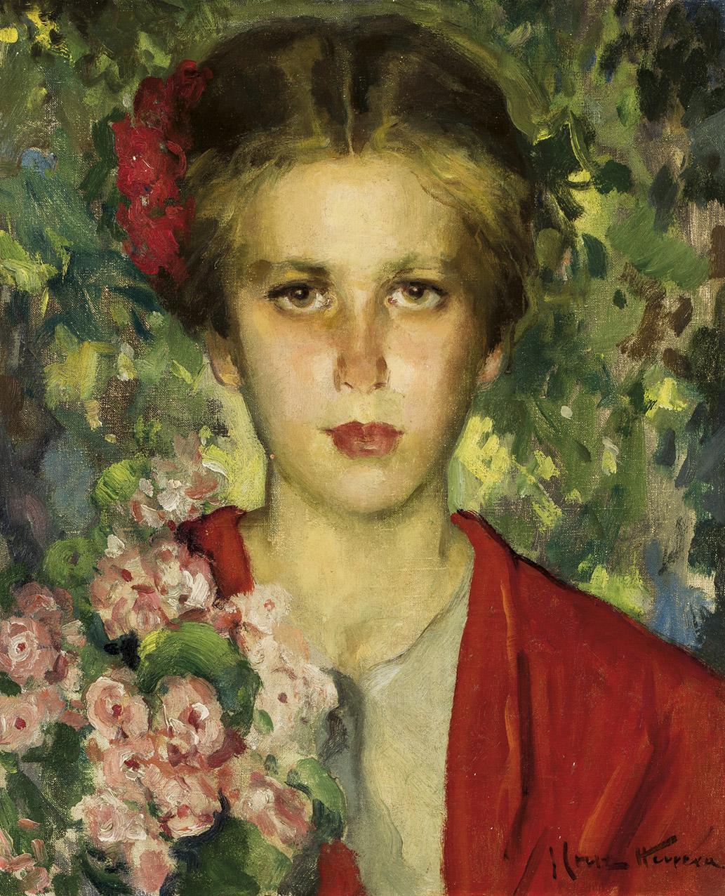 Jose-Cruz-Herrera-Nina-entre-las-flores