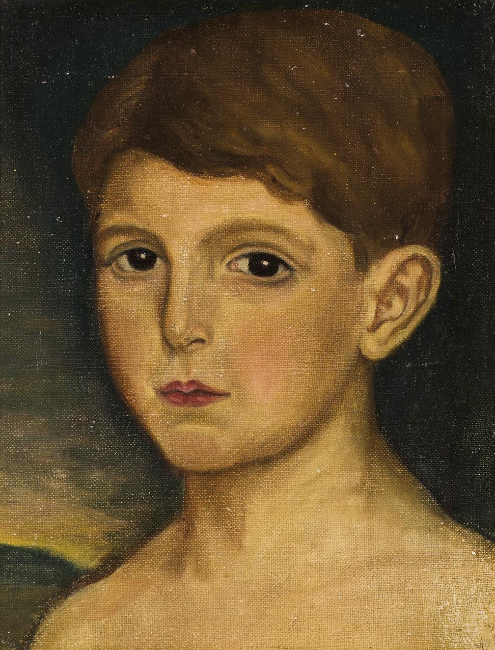 Julio-Romero-de-Torres-Retrato-del-nino-Mariano-Rodriguez-de-Rivas-hacia-1923