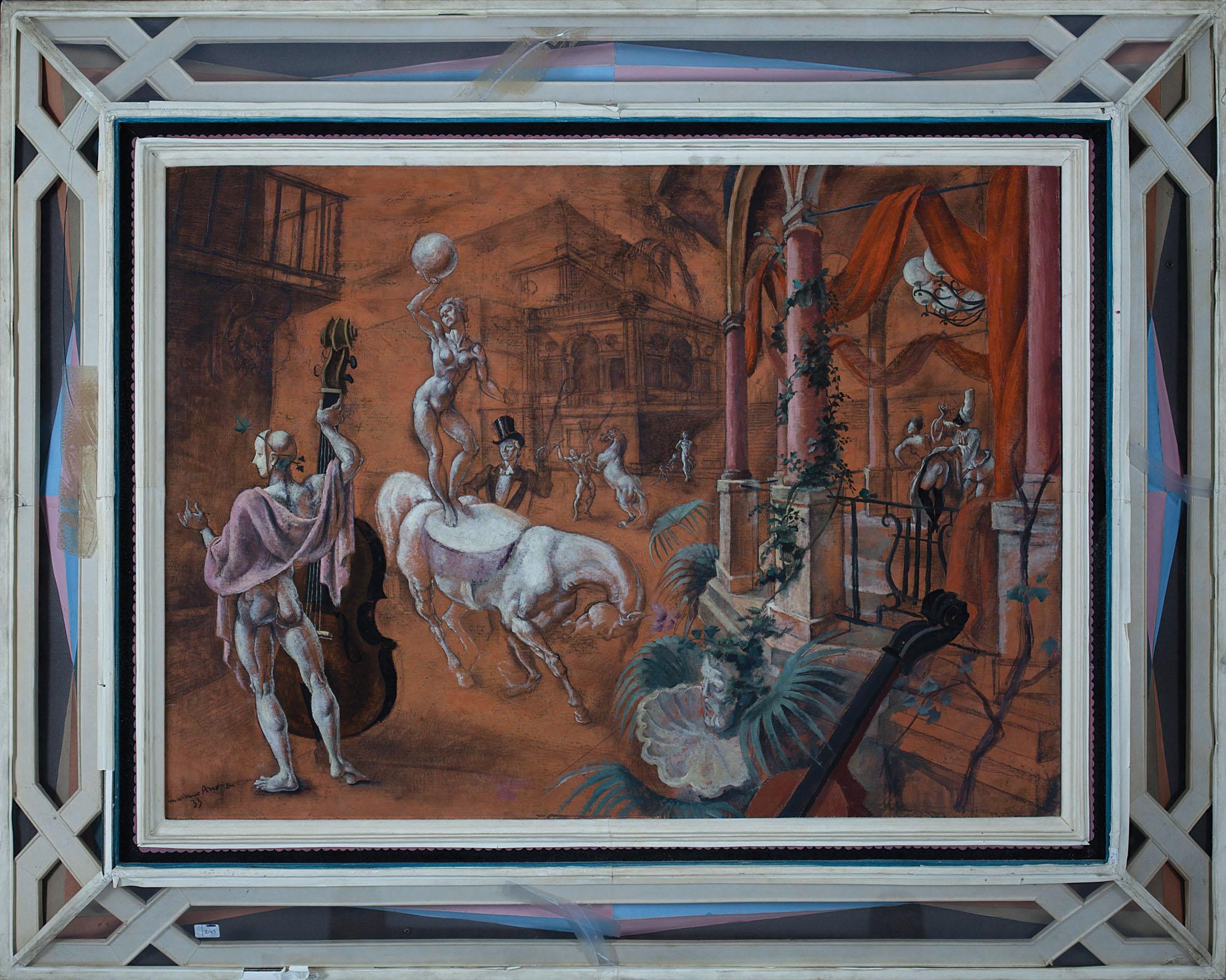 Mariano-Andreu-Escena-de-circo-1933