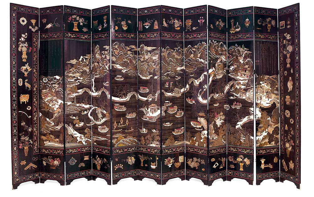 1426-biombo-de-doce-hojas-en-laca-coromandel-Dinastía-Qing-periodo-Kangxi-1662-1722-00-copia