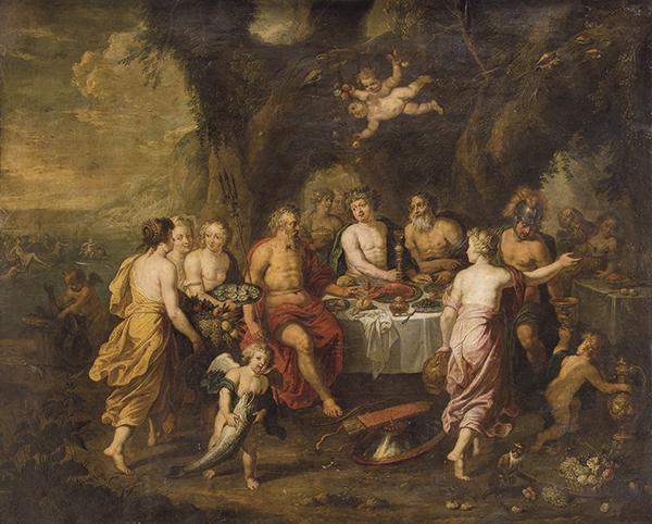 Circulo-de-Jan-Brueghel-I-El-banquete-de-Aqueloo