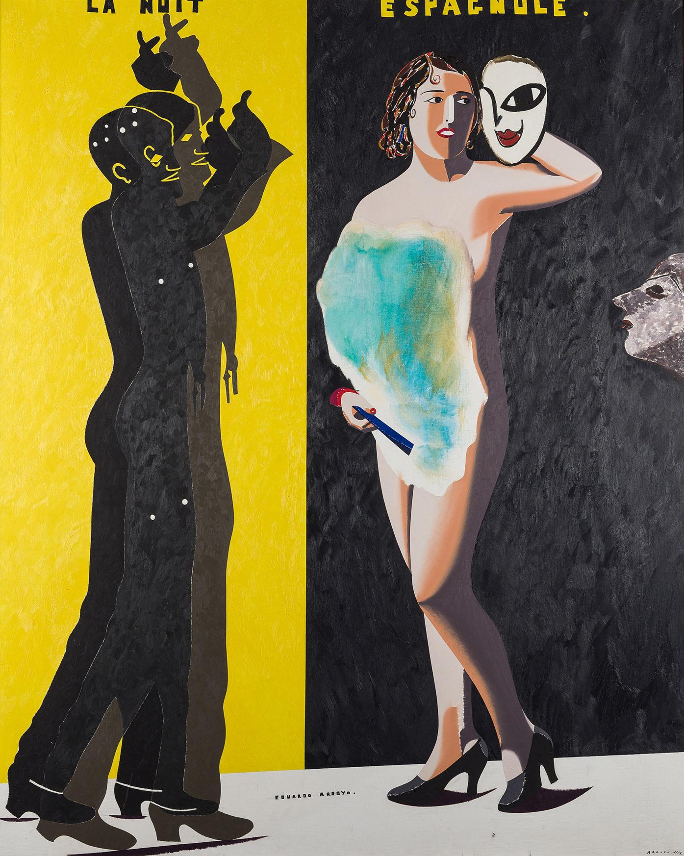 Eduardo-Arroyo-La-nuit-Espagnole-1983