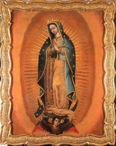 Escuela-mexicana-S.XVIII-Virgen-de-Guadalupe