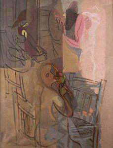 Francisco-Bores-Mujeres-delante-del-tocador-1933