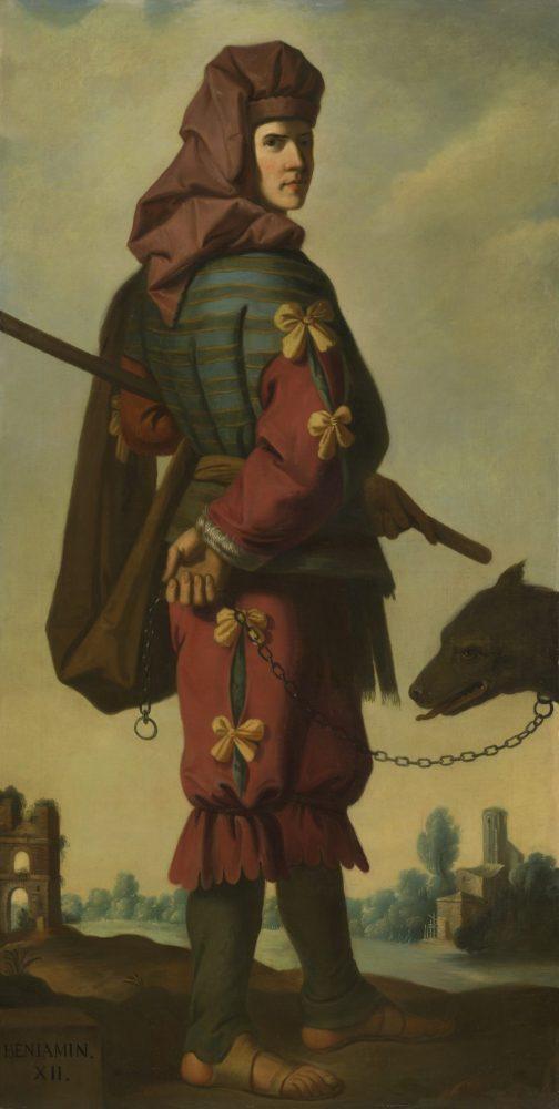 Francisco de Zurbarán, Benjamin. Photograph by Robert LaPrelle © Auckland Castle Trust_Zurbarán Trust