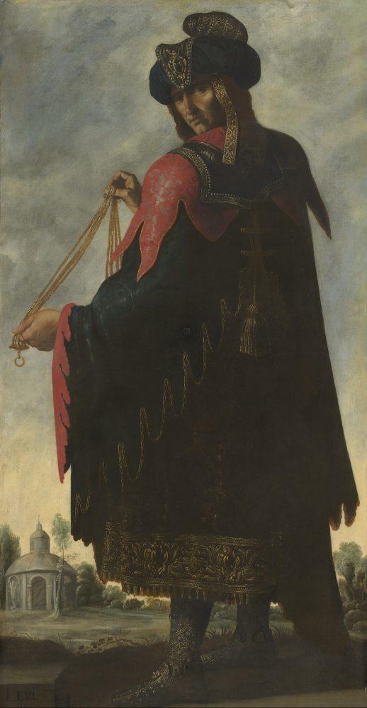 Francisco de Zurbarán, Levi. Photograph by Robert LaPrelle © Auckland Castle Trust_Zurbarán Trust