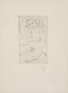 Henri-Matisse-Nu-assis-Les-yeux-noirs-1926
