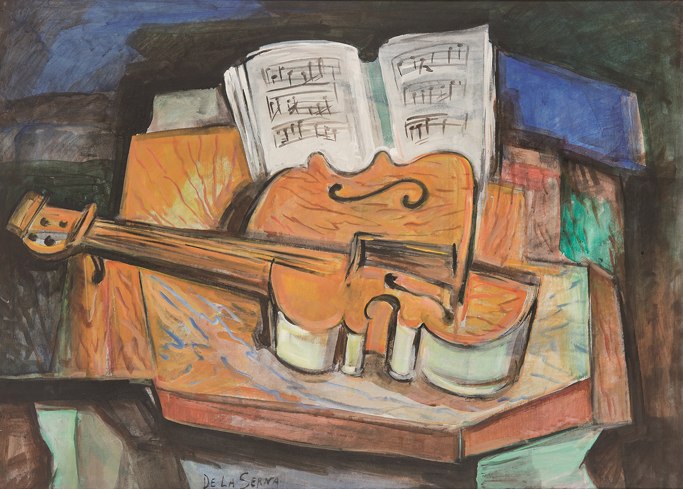 Ismael-González-de-la-Serna-Naturaleza-muerta-con-violín-c1935