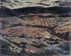 Jose-Beulas-Paisaje-de-campos-con-olivos
