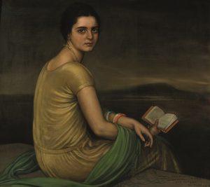 Julio-Romero-de-Torres-Retrato-de-la-señorita-de-Alfonso-1924_th