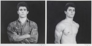 Robert-Mapplethorpe-Sesion-de-retratos-con-modelos-Madrid-1985