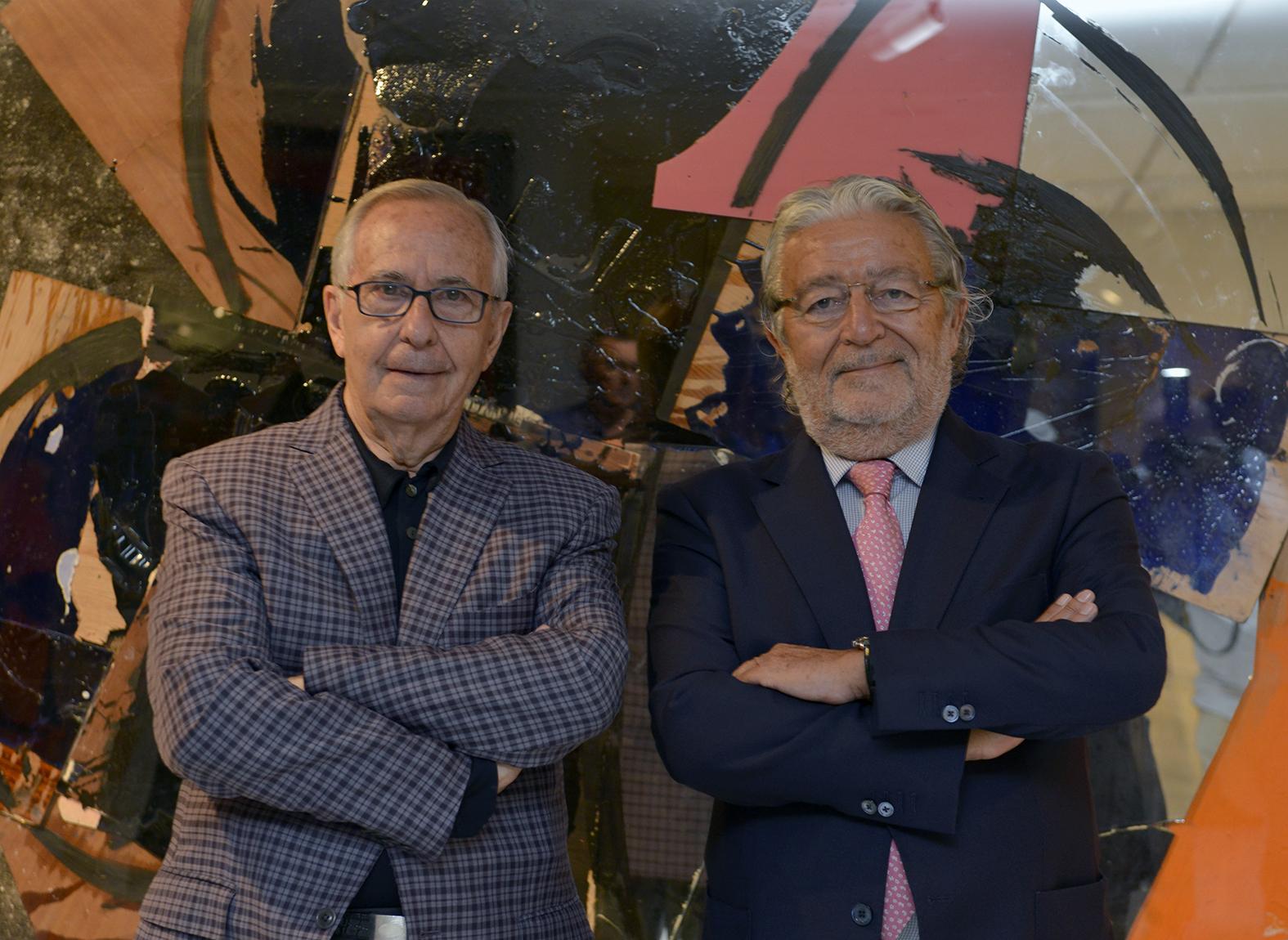 2 Manolo Valdés y Rafael Alcón
