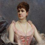 Raimundo de Madrazo. Retrato de María de Hahn y Echenagusia, esposa del pintor, 1890. Salida: 20.000 euros