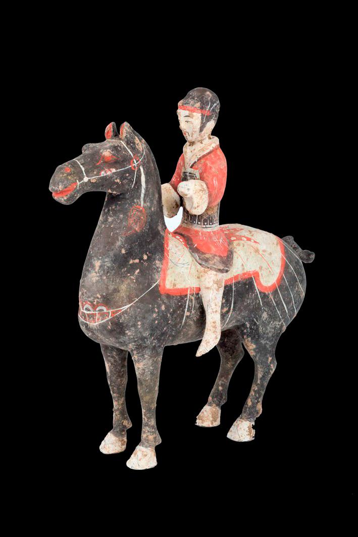440-Jinete-a-caballo.-China,-Dinastía-Han-206-a.-C.—220-d.-C.01.-Terracota